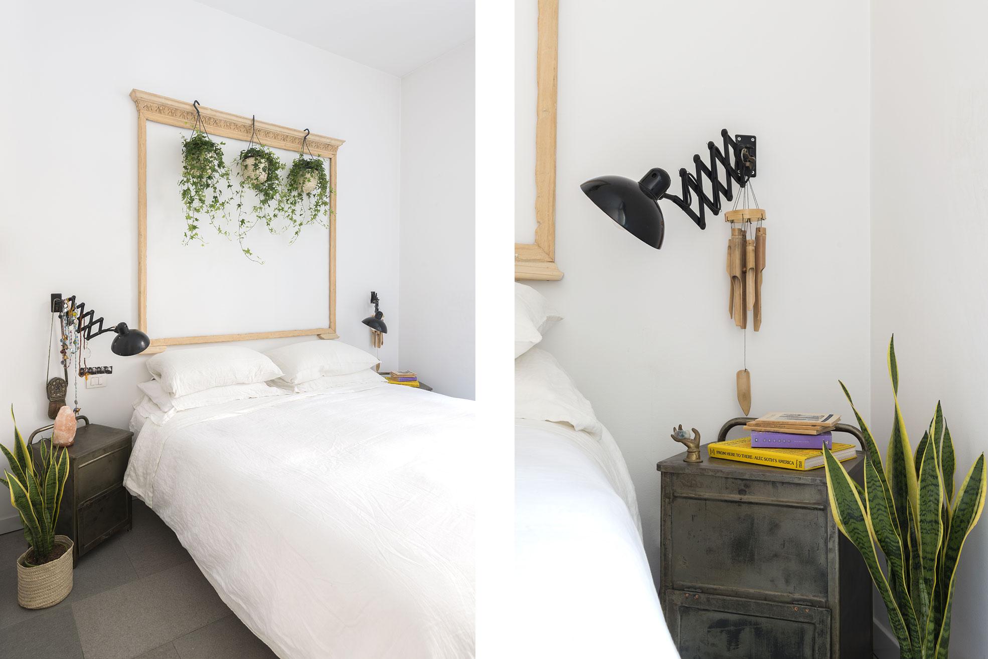 Bedroom of the gipsy house of Giovanna Forlivesi Photographer Maria Teresa Furnari