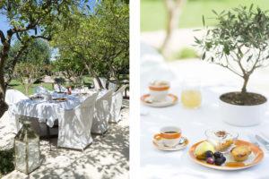 Breakfast at the boutique hotel Masseria Trapanà in Puglia Photographer Maria Teresa Furnari