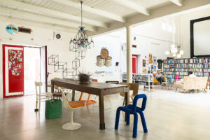 Living room of Cinema Flora Photographer Maria Teresa Furnari