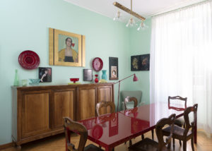 Diningroom of Elena Corner's house Photographer Maria Teresa Furnari
