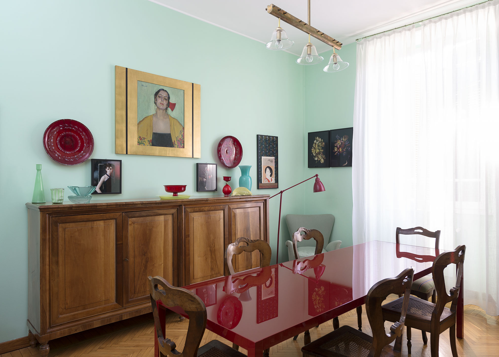 Diningroom of Elena Corner's house Photographer Maria Teresa Furnari