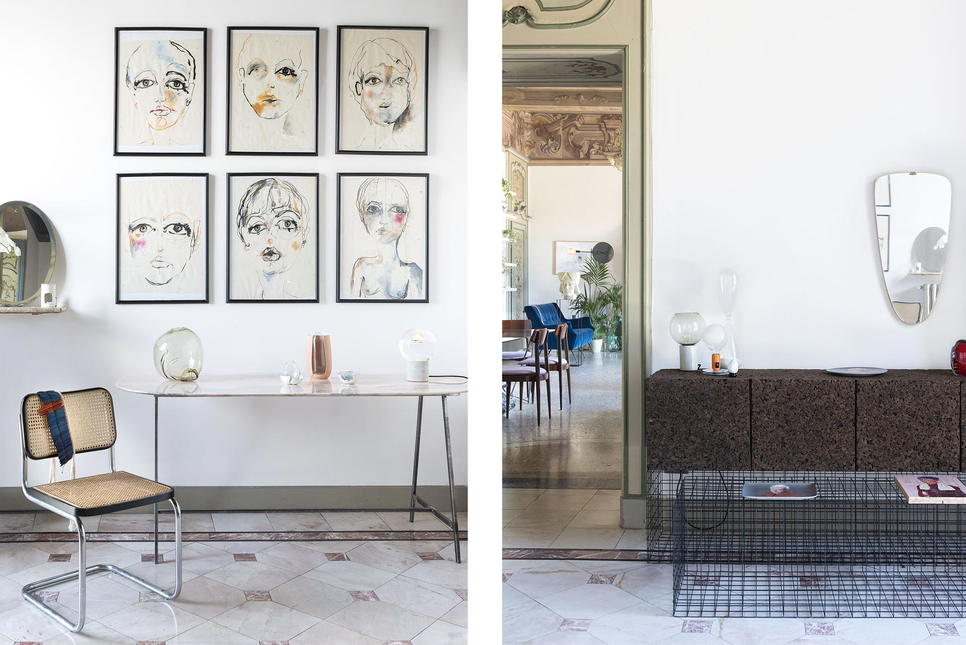 Artworks in Casa Canvas Photographer Maria Teresa Furnari