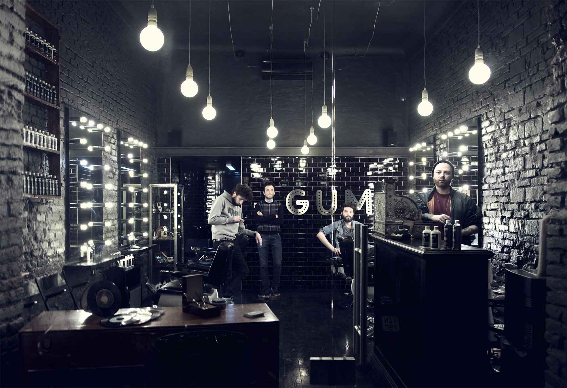 The vintage barber shop GUM in Milan Photographer Maria Teresa Furnari