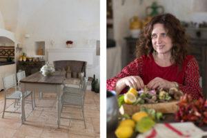 Kitchen at Masseria Potenti in Puglia Photographer Maria Teresa Furnari