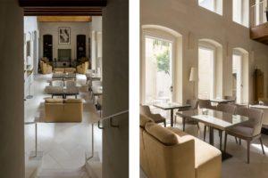 Lounge area of La fiermontina resort in Lecce Photographer Maria Teresa Furnari