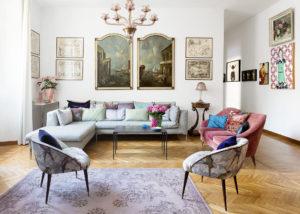Living Room of Elena Corner's house Photographer Maria Teresa Furnari