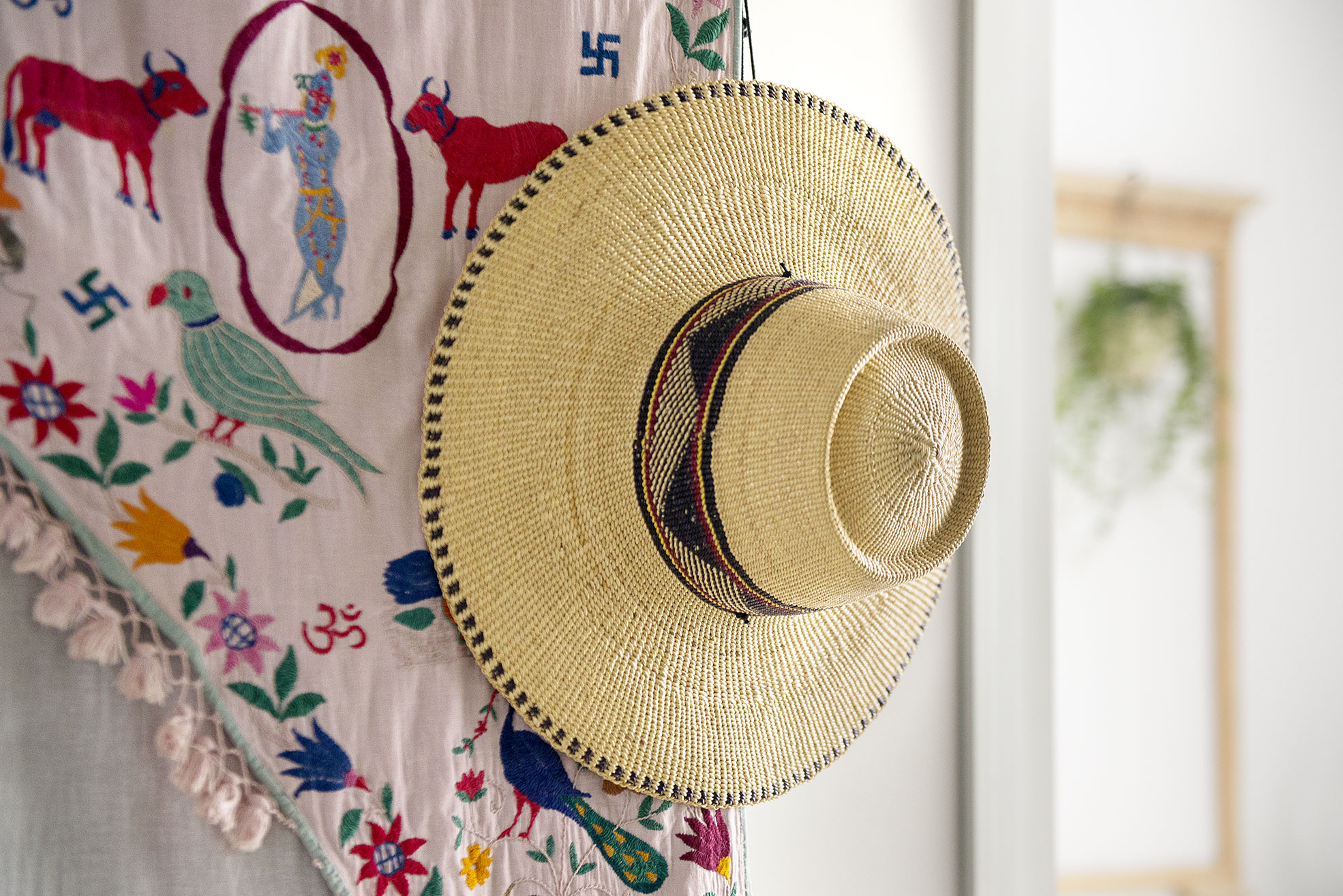 Detail of Mexican Gipsy hat Photographer Maria Teresa Furnari