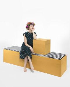 Portrait of Rosalba Piccinni and her design project Pota love photographer Maria Teresa Furnari