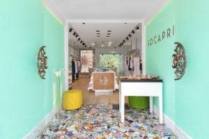 Entrance of Socapri Boutique in in Capri island Photographer Maria Teresa Furnari