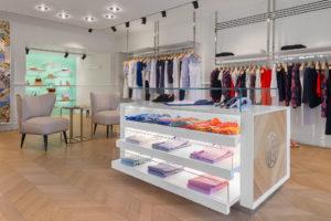 Interior Photo of Socapri Boutique in in Capri island Photographer Maria Teresa Furnari