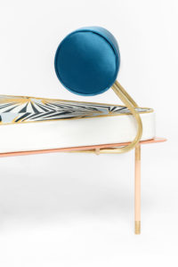 Still life of armchair of Aquiloni collection of the designer Derek Castiglioni Photographer Maria Teresa Furnari