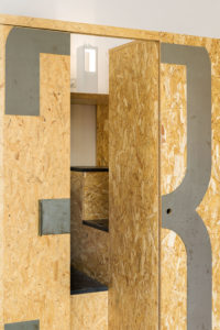 Detail in the studio Alessio Riva Architect Photographer Maria Teresa Furnari