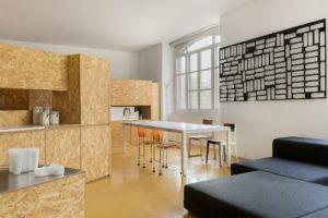 White table in the studio Alessio Riva Architect Photographer Maria Teresa Furnari