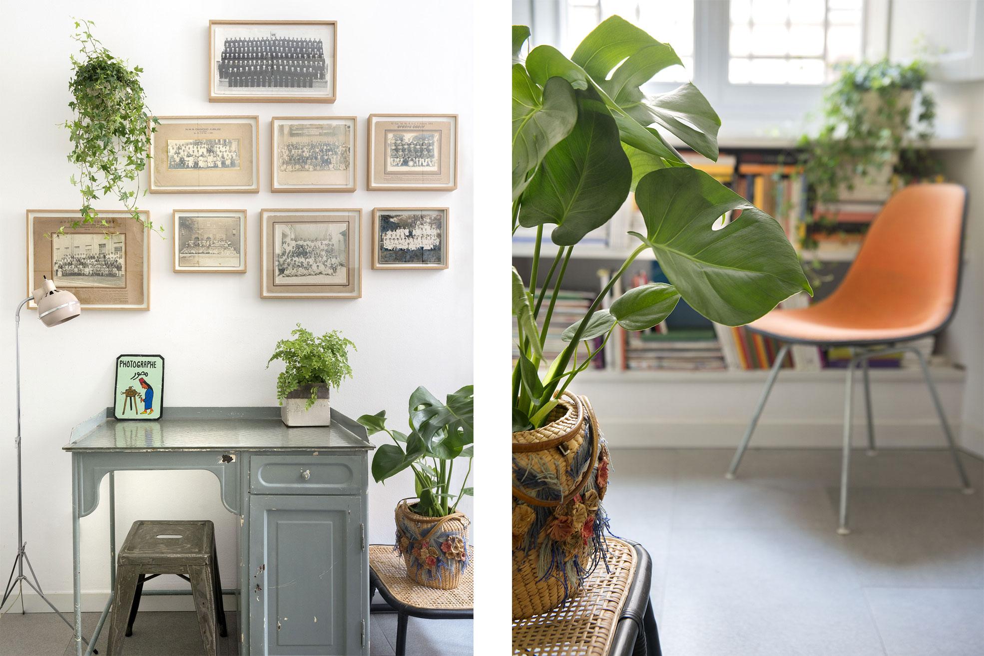 Studio of the gipsy house of Giovanna Forlivesi Photographer Maria Teresa Furnari