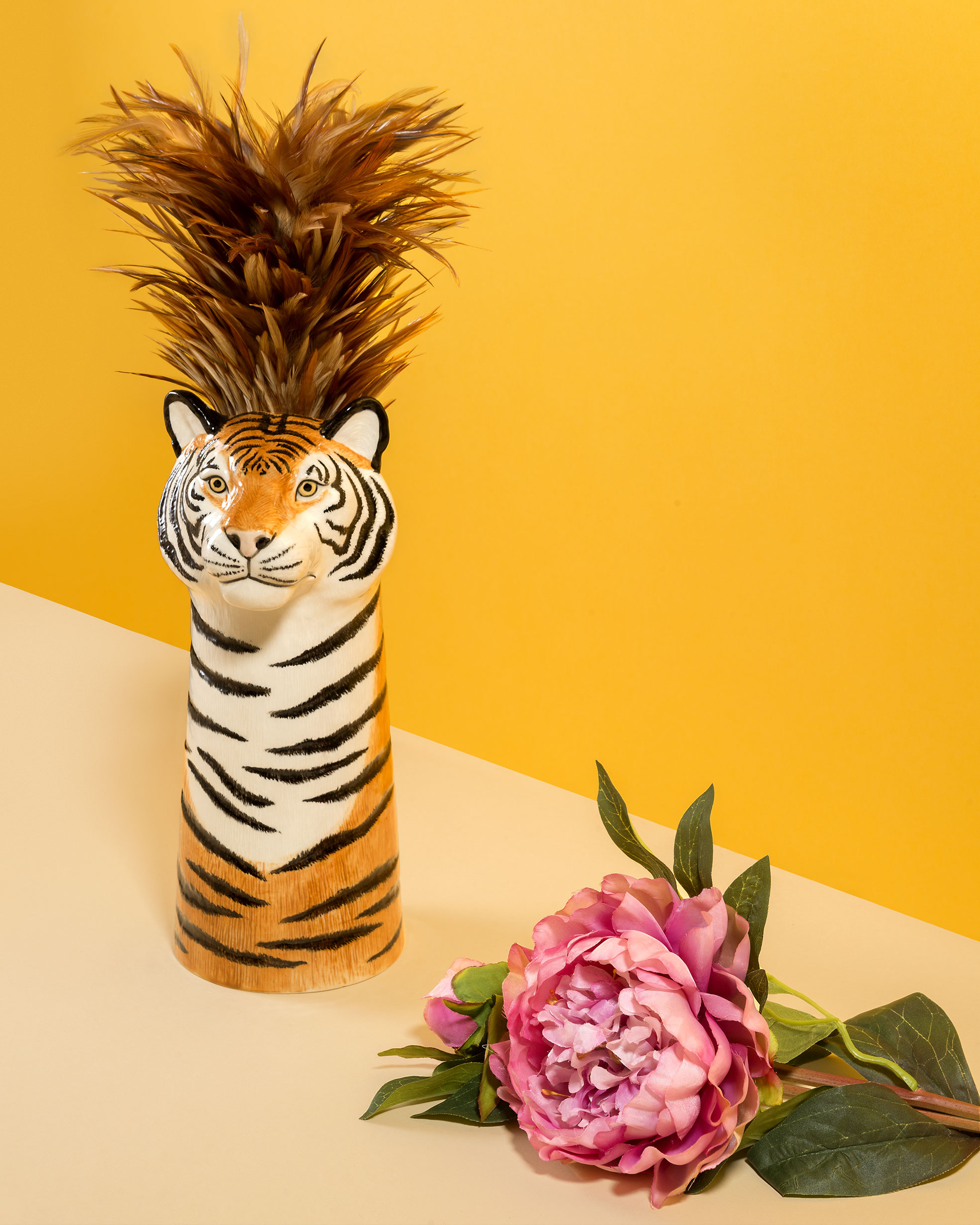 Still Life of Tiger Jar for the E-commerce of Funky Table Photographer Maria Teresa Furnari