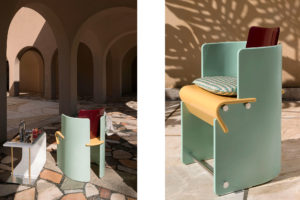 Chairs Supernova Collection of Derek Castiglioni Photographer Maria Teresa Furnari