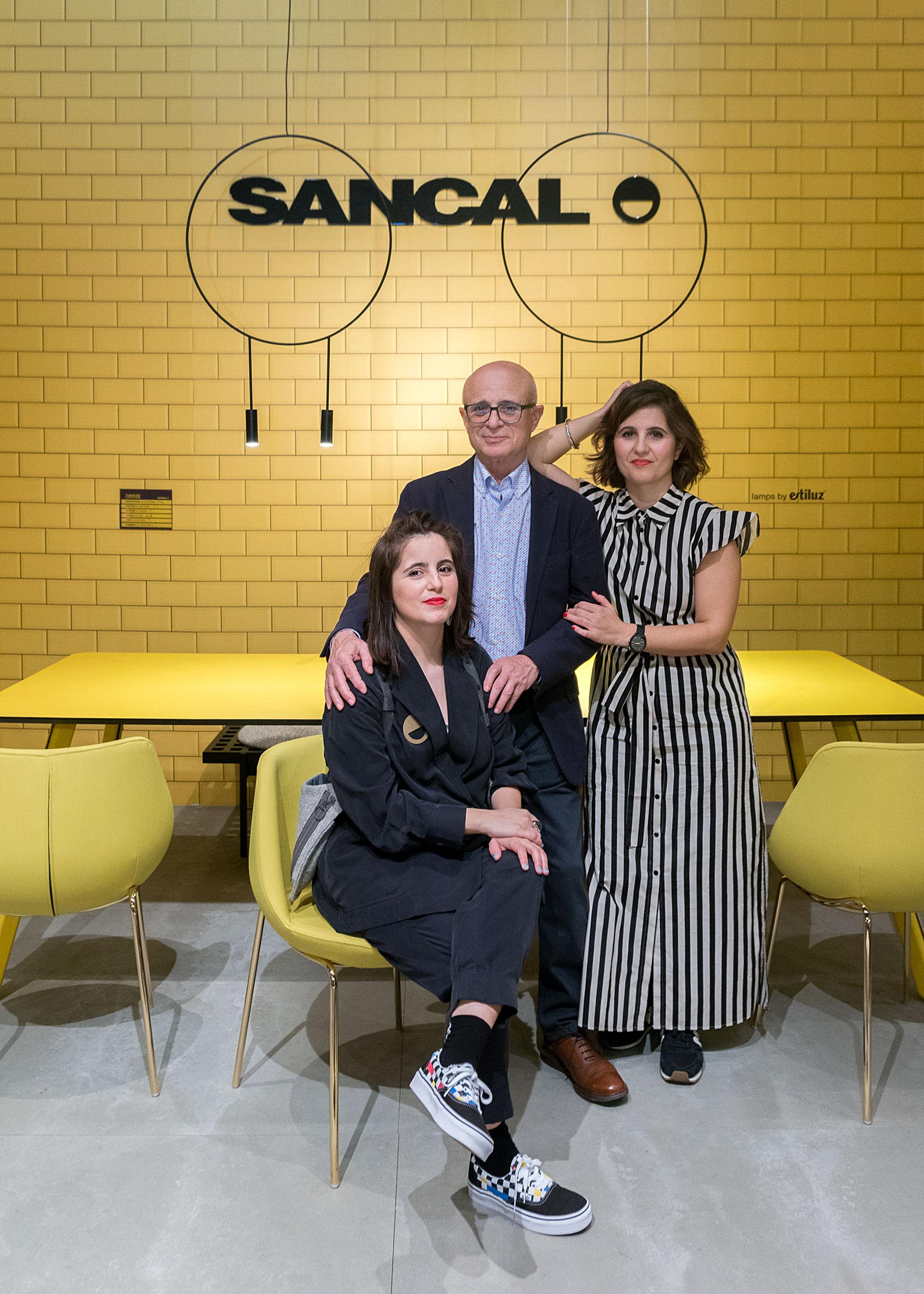 Potrait Sancal Team at Salone del Mobile 2019 Milan
