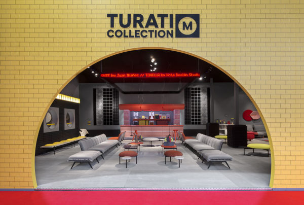 Stand of Sancal Turati Collection at Salone del Mobile 2019 of Milan
