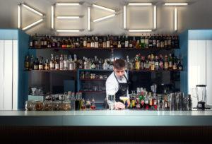 Portrait of Edoardo Brambilla, bartender at Il Memorabilia Depot